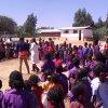 Kringspel op de Maranatha School