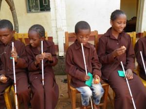 Bezoek aan Blindenschool Dilla (kerst 2013)