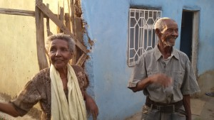 Behailu's vader en moeder